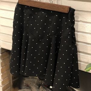 Vero Moda Polka Dot Mini Skirt